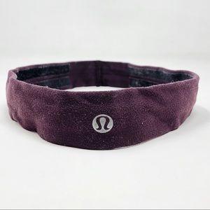 Lululemon Fly Away Tamer Athletic Headband Purple